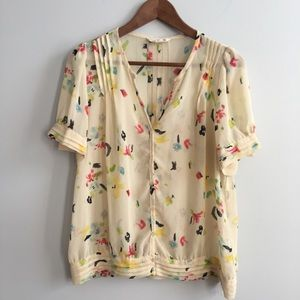 Sheer urban outfitters blouse